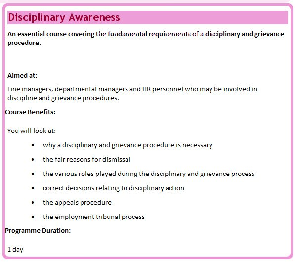 Student Disciplinary and Grievance Policies and Procedures